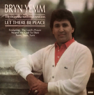 Bryn Yemm With The Richard Williams Singers ‎- Let There Be Peace  (LP) (EX+/EX-)